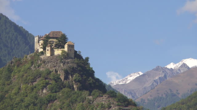 PAN Juval Castle (Schloss Juval) in Vinschgau (Val Venosta) in South Tyrol (Messner Mountain Museum)