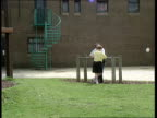 County Durham Aycliffe Centre CS Young offender intvwd SOF Think this detention centre is a horrible place I go AWOL all the time TBV Young offender...