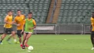 Juventus train in Hong Kong ahead of their friendly game against local team South China the final leg of a preseason tour that has included games in...
