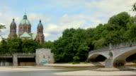 Kabelsteg and St. Lukas Church