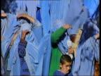 Kabul SEQUENCE Women on street fully veiled
