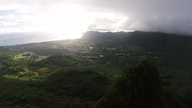 Kailua, Hawaii aerial.