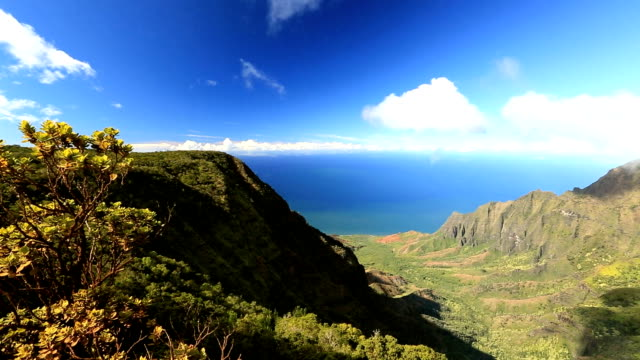 Kalalau Valley in Kauai, Hawaii