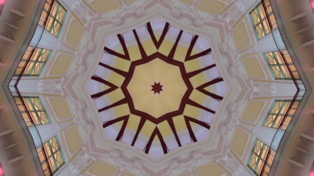 Kaleidoscope effects.
