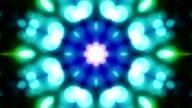 Kaleidoskop Endlos wiederholbar Hintergrund