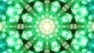 Kaleidoskop von Formen loop