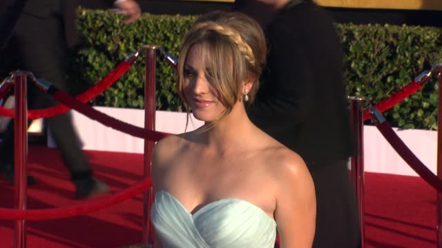 Kaley Cuoco at 18th Annual Screen Actors Guild Awards Arrivals on 1/29/2012 in Los Angeles CA