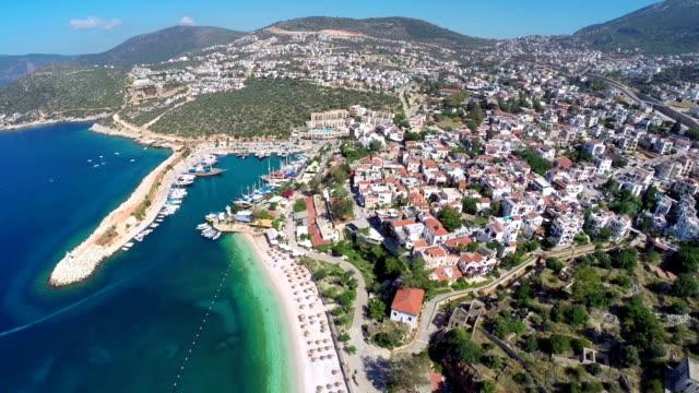 Kalkan mediterranen Stadt