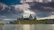 ZEITRAFFER: Schloss von Kalmar Schweden