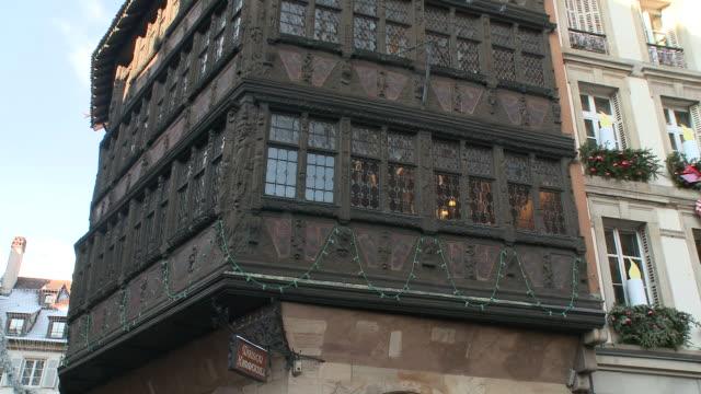 MS Kammerzell house at munster square / Strasbourg, Alsace, France