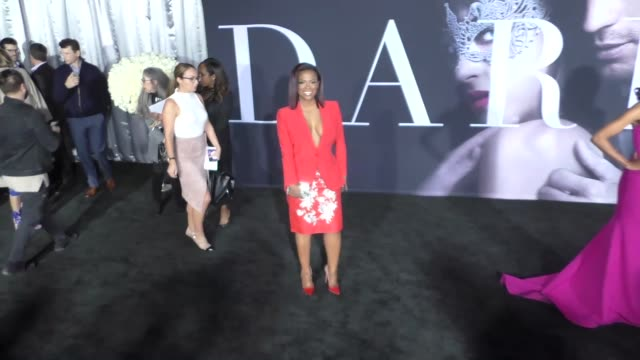 Kandi Burruss at The Universal Pictures Premiere of 'Fifty Shades Darker' on February 03 2017 in Hollywood California
