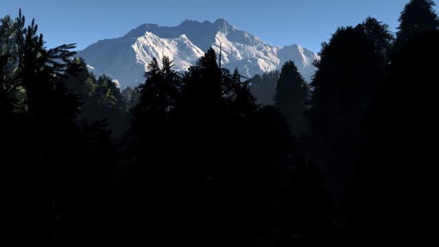 Kangchenjunga at first light.