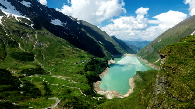 Kaprun Reservoir Hohe Tauern - Time Lapse