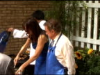 Kara DioGuardi and Regis Philbin take a taste test on the set of 'Live with Regis Kelly' in New York 06/16/11