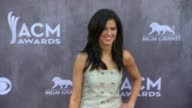Karen Fairchild at the 49th Annual Academy of Country Music Awards Arrivals at MGM Grand Garden Arena on April 06 2014 in Las Vegas Nevada
