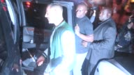 Karim Benzema leaves after Rihanna departs upon seeing Chris Brown at Hooray Henry's in West Hollywood in Celebrity Sightings in Los Angeles