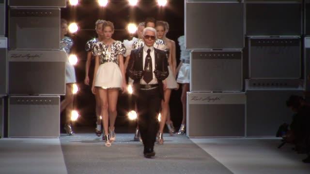 Karl Lagerfeld Paris Fashion Week S/S 2010