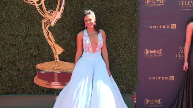Karla Mosley at the 44th Annual Daytime Emmy Awards at Pasadena Civic Auditorium on April 30 2017 in Pasadena California