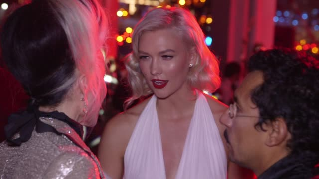 Karlie Kloss at Natalia Vodianova's Naked Heart Foundation to partner with amfAR in New York for Fabulous Fund Fair at Skylight Clarkson Sq on...