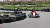 Karting, automobilistico di tutto il percorso
