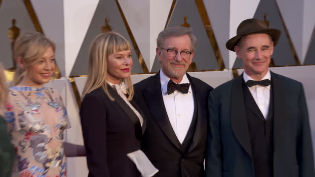 Kate Capshaw Steven Spielberg at 88th Annual Academy Awards Arrivals at Hollywood Highland Center on February 28 2016 in Hollywood California 4K