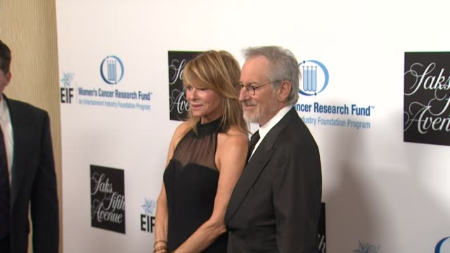 Kate Capshaw Steven Spielberg at An Unforgettable Evening Benefiting The Entertainment Industry Foundation's Women's Cancer Research Fund on 4/18/12...