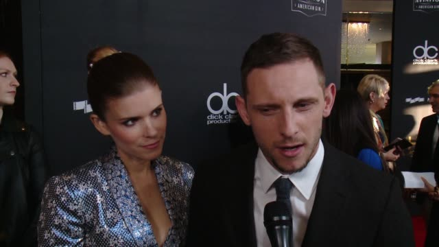 INTERVIEW Kate Mara and Jamie Bell on how special is tonight as Hollywood comes together in one of the first ceremonies of the season to recognize...