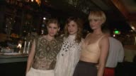Kate Mara Sophia Bush Amber Valetta at HM Conscious Exclusive Dinner in Los Angeles CA