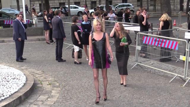Kate Moss attending Miu Miu Club party in Paris on July 04 2015 in Paris France