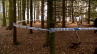 Husband confesses Taped off area of woodland where police will hunt for Kate Prout's body Police officers erecting screens at site before excavation...