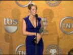 Kate Winslet for The Reader wins Outstanding Performance by a Female Actor in a Supporting Role at the 15th Annual Screen Actors Guild Awards Press...