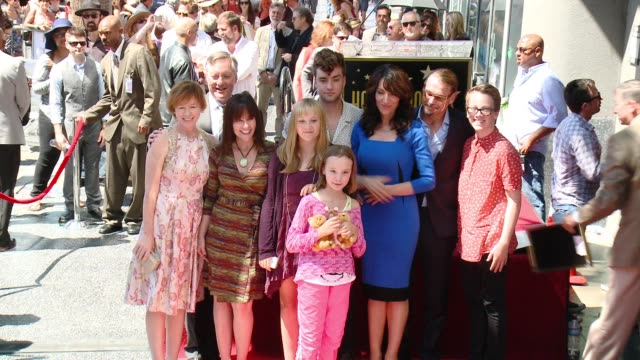 Katey Sagal, Kurt Sutter and family at Katey Sagal Honored ...