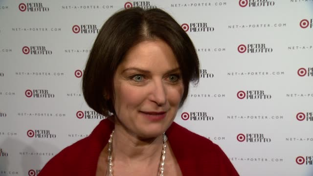INTERVIEW Kathee Tesija on what's going on tonight On why Target is partnering with Peter Pilotto On how the relationship eveolved On when and where...