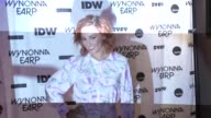 Katherine Barrell at ComicCon International 2017 'Wynonna Earp' Media Mixer With Cast Fan Appreciation Party on July 20 2017 in San Diego California