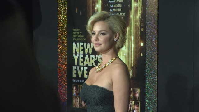 Katherine Heigl at New Year's Eve World Premiere on 12/5/11 in Hollywood CA