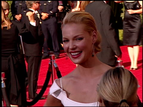 Katherine Heigl at the 2007 Emmy Awards Red Carpet at the Shrine Auditorium in Los Angeles California on September 16 2007