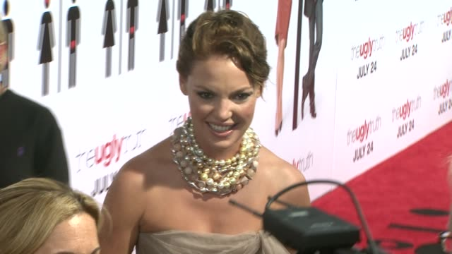 Katherine Heigl at the 'The Ugly Truth' Premiere at Hollywood CA