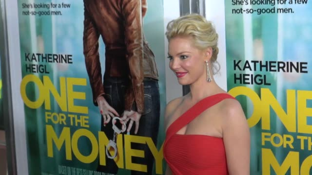 Katherine Heigl attends the 'One For The Money' Premiere 01/24/12 in Celebrity Sightings in New York