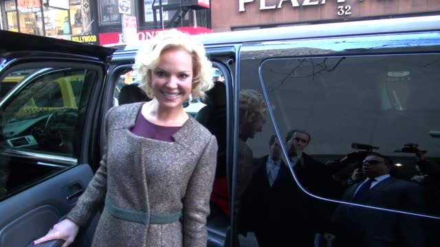 Katherine Heigl leaving the Today Show 1/24/2012 in Celebrity Sightings in New York