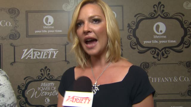 Katherine Heigl on how she feels to be receiving this honor why this is a cause that is so close to her heart and what she hopes people will learn...