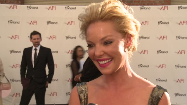 Katherine Heigl on Shirley MacLaine on her favorite roles and on AFI at Shirley MacLaine Honored with the 40th AFI Life Achievement Award INTERVIEW...