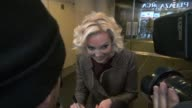 Katherine Heigl signing for fans at the Today Show 1/24/2012 in Celebrity Sightings in New York