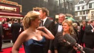Katherine Jenkins Tom Lister and Emily Symons at the BAFTA Awards on April 20 2008