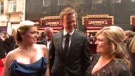 Katherine Jenkins Tom Lister and Emily Symons on celebrating British TV glamour and soap battles at the BAFTA Awards on April 20 2008