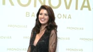 Katherine Schwarzenegger poses during Pronovias bridal collection during the 'Barcelona Bridal Fashion Week 2016'