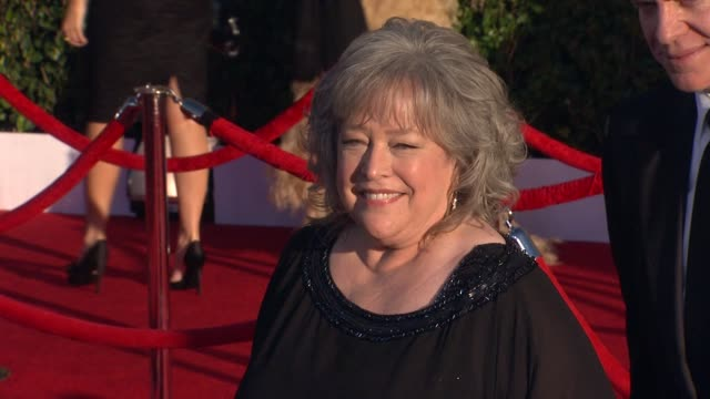 Kathy Bates at 18th Annual Screen Actors Guild Awards Arrivals on 1/29/2012 in Los Angeles CA