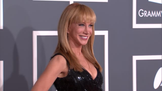 Kathy Griffin at The 55th Annual GRAMMY Awards Arrivals in Los Angeles CA on 2/10/13