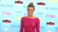 Katie Cassidy at 2013 Teen Choice Awards Arrivals on 8/11/2013 in Universal City CA