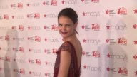 Katie Holmes at The American Heart Association's Go Red For Women Red Dress Collection 2017 Presented By Macy's at Hammerstein Ballroom on February 9...