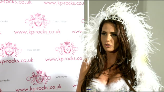 Katie Price launches new jewellery range KP Rocks Katie Price interview SOT On her jewellery range / doesn't have style icons / would like to do...